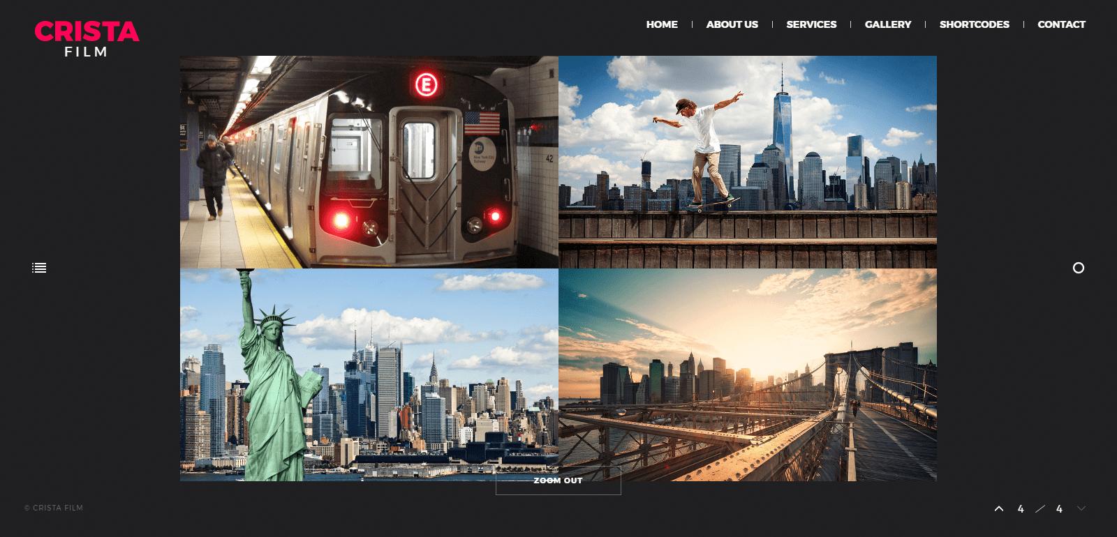 Crista – Fully Responsive Video Blog WordPress Theme