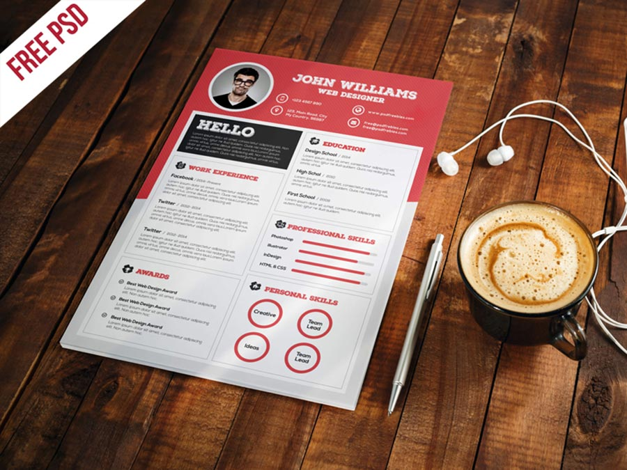 Clean-and-Sharp-Resume-CV-Template