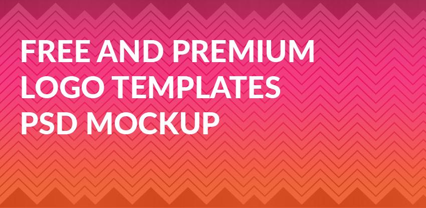 Best Free and Premium Logo Templates PSD Mockup