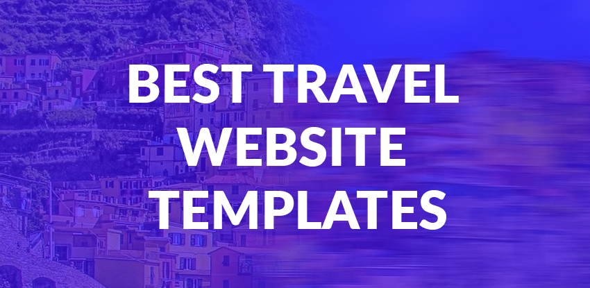 25+ Best Travel Website Templates | Templatedrive.com