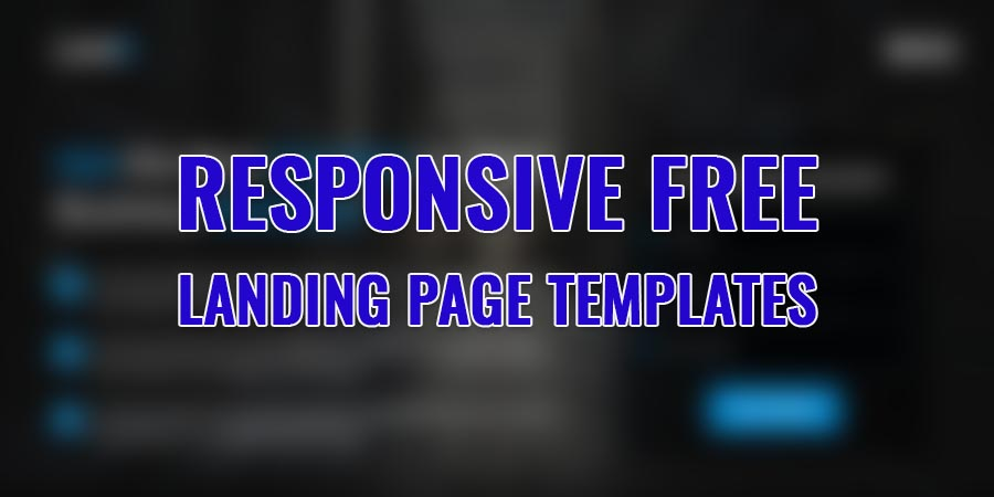 20 + Landing Page Templates | Free One Page Templates