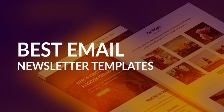 15+ Best Email Newsletter Templates