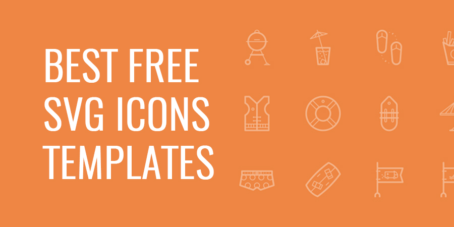 Best Free SVG Icons Templates Download