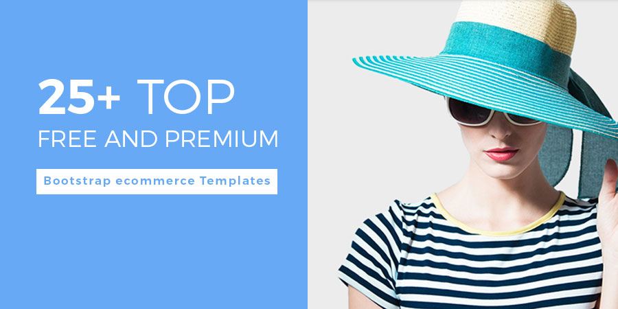 Top Free and Premium Bootstrap ecommerce Templates
